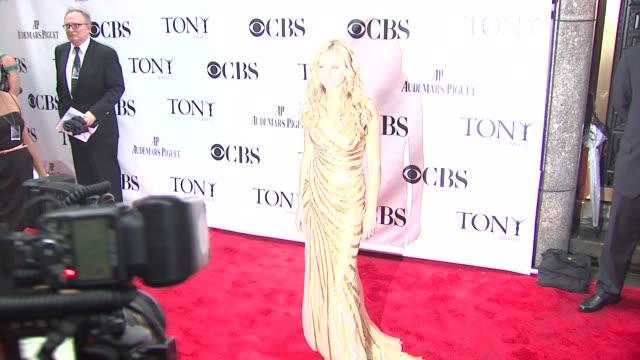 Laura Bell Bundy at the 64th Annual Tony Awards at New York NY