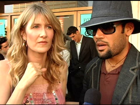 laura dern and ben harper on each of their summer plans, on ben being on tour, on laura's work with david lynch doing an experimental film this... - laura dern stock videos & royalty-free footage