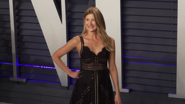 laura dern at 2019 vanity fair oscar party hosted by radhika jones at wallis annenberg center for the performing arts on february 24, 2019 in beverly... - vanity fair oscar party stock videos & royalty-free footage
