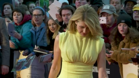laura dern at 'marriage story' - european premiere - 63rd bfi london film festival at odeon luxe leicester square on october 06, 2019 in london,... - laura dern stock videos & royalty-free footage