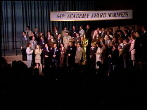 vídeos y material grabado en eventos de stock de laura dern at the 1992 academy awards luncheon at the beverly hilton in beverly hills california on march 17 1992 - laura dern