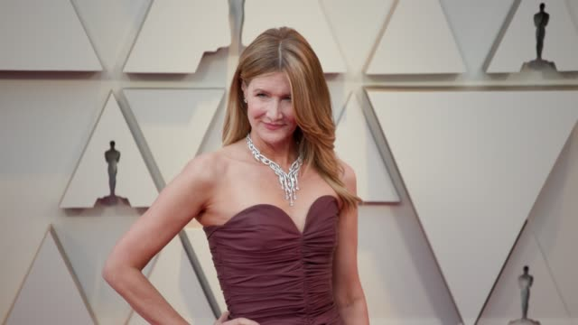 vídeos de stock e filmes b-roll de laura dern at the 91st academy awards arrivals at dolby theatre on february 24 2019 in hollywood california - cerimónia dos óscares