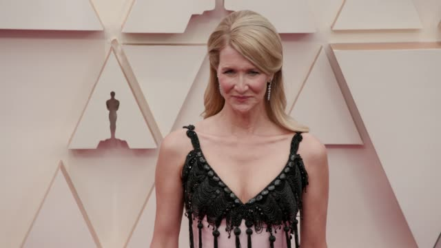 laura dern at the 92nd annual academy awards at dolby theatre on february 09 2020 in hollywood california - academy awards stock videos & royalty-free footage