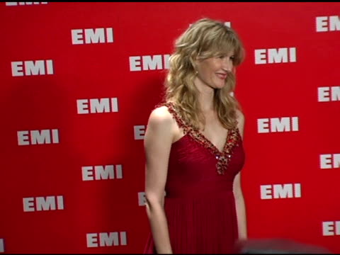 laura dern at the emi post-grammy awards bash at the beverly hilton in beverly hills, california on february 13, 2005. - emi grammy party stock videos & royalty-free footage
