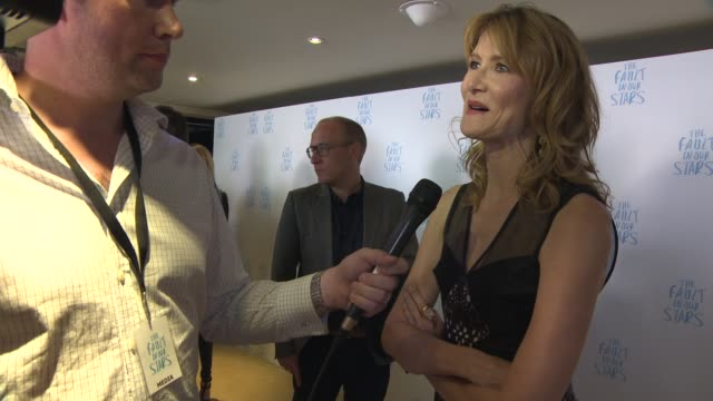 laura dern at the fault in our stars special screening at the mayfair hotel on june 17, 2014 in london, england. - laura dern stock videos & royalty-free footage