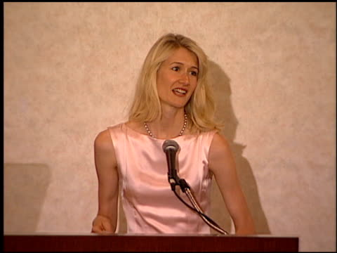 laura dern at the hfpa installation luncheon at the beverly hilton in beverly hills, california on july 14, 1999. - laura dern stock videos & royalty-free footage