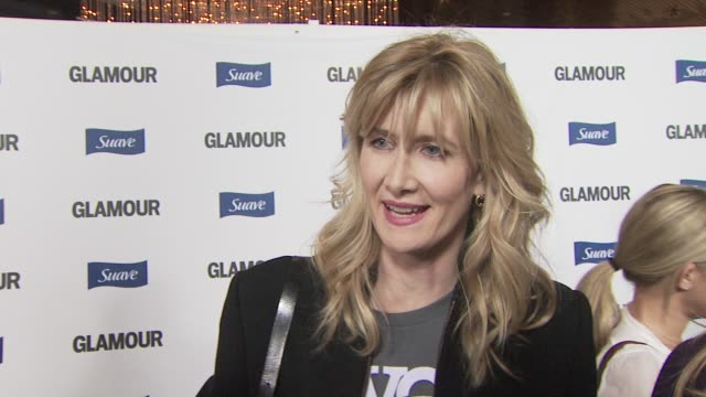 laura dern on the opportunities glamour reel moments gives to women in directing at the glamour reel moments at los angeles ca. - laura dern stock videos & royalty-free footage