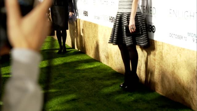 Laura Dern posing for paparazzi along the red carpet at Paramount Studios