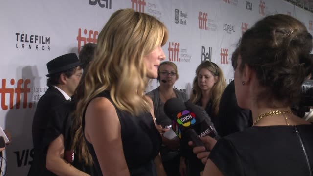 laura dern wild premiere toronto international film festival 2014 at roy thomson hall on september 08 2014 in toronto canada - toronto international film festival stock videos and b-roll footage