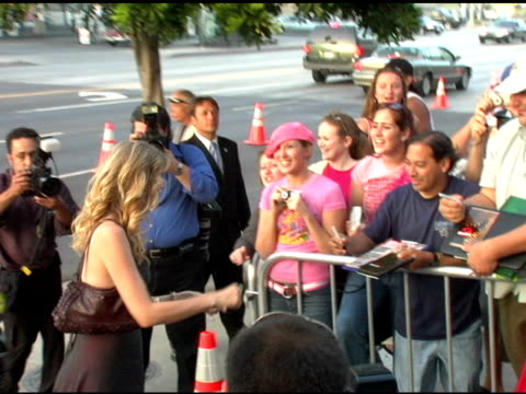 laura dern with fans at the 'we don't live here anymore' los angeles premiere arrivals at director's guild of america in hollywood, california on... - director's guild of america stock videos & royalty-free footage