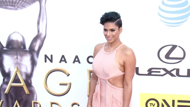 laura govan at 47th annual naacp image awards at pasadena civic auditorium on february 05 2016 in pasadena california - pasadena civic auditorium stock videos and b-roll footage