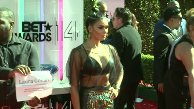 Laura Govan at the 2014 BET Awards on June 29 2014 in Los Angeles California
