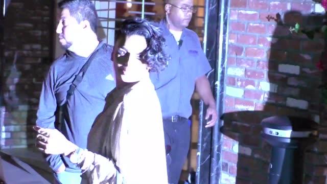 Laura Govan outside TAO Restaurant in Hollywood in Celebrity Sightings in Los Angeles