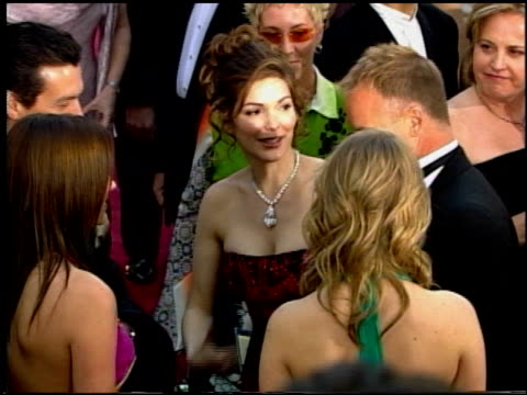 laura harring at the 2002 academy awards at the kodak theatre in hollywood california on march 24 2002 - laura harring stock videos & royalty-free footage