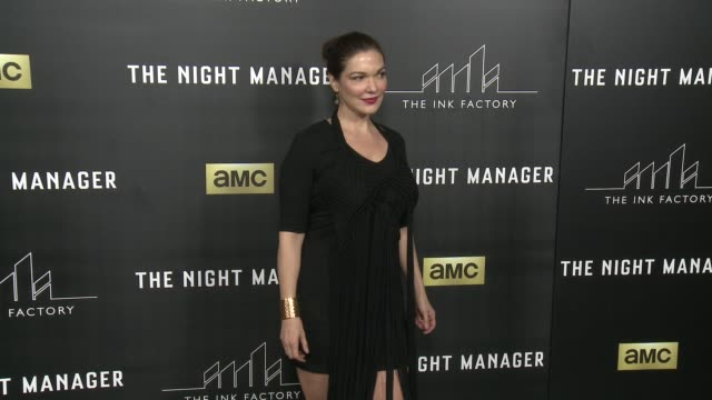laura harring at the night manager los angeles premiere at directors guild of america on april 05 2016 in los angeles california - laura harring stock videos & royalty-free footage
