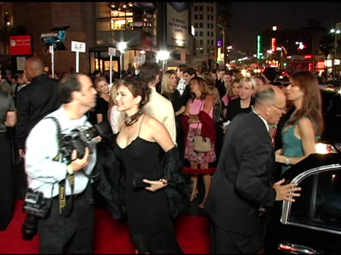 laura harring at the opening night of 'the ten commandments' at the kodak theatre in hollywood california on september 27 2004 - laura harring stock videos & royalty-free footage