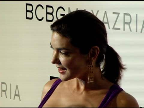 laura harring at the opening of the new bcbg max azria flagship store hosted by max and lubov azria sarah michelle gellar and vanity fair at bcbg max... - bcbg max azria stock videos & royalty-free footage