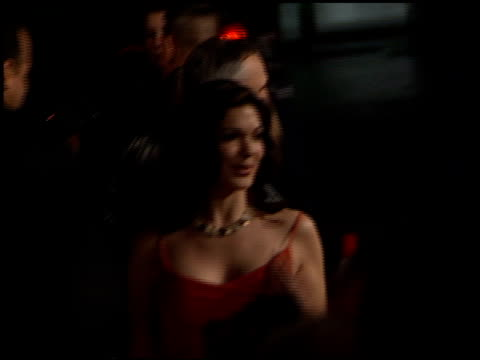 laura harring at the premiere of 'the pledge' at the egyptian theatre in hollywood california on january 9 2001 - laura harring stock videos & royalty-free footage
