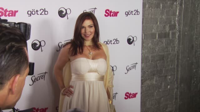 laura harring at the star magazine's young hollywood issue launch party at west hollywood ca - laura harring stock videos & royalty-free footage