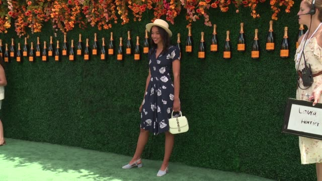 Laura Herrier at TenthAnnual Veuve Clicquot Polo Classic at Liberty State Park on June 03 2017 in Jersey City New Jersey