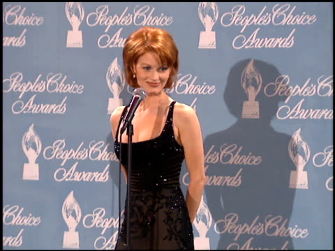 laura leighton at the 1996 people's choice awards at universal studios in universal city california on march 10 1996 - people's choice awards stock videos & royalty-free footage