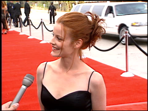 Laura Leighton at the Blockbuster Awards at Hollywood Pantages Theater in Hollywood California on March 11 1997