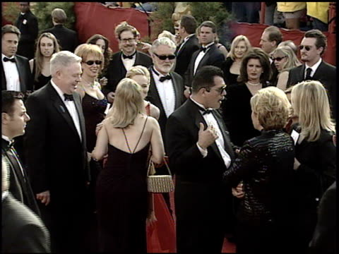 laura linney at the 2001 academy awards at the shrine auditorium in los angeles california on march 25 2001 - 73rd annual academy awards stock videos & royalty-free footage