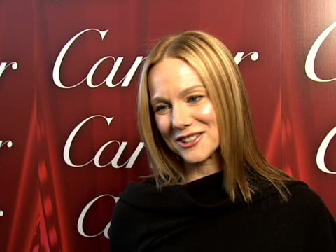 laura linney at the 2008 palm springs international film festival hosts star-studded awards gala presented by cartier red carpet arrivals at palm... - cartier stock videos & royalty-free footage