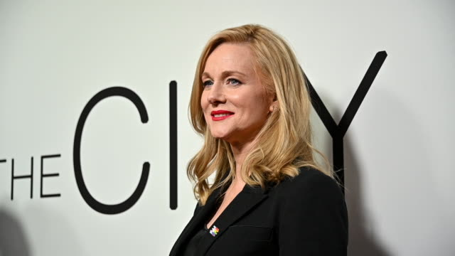 stockvideo's en b-roll-footage met laura linney at the tales of the city new york premiere at the metrograph on june 03 2019 in new york city - première