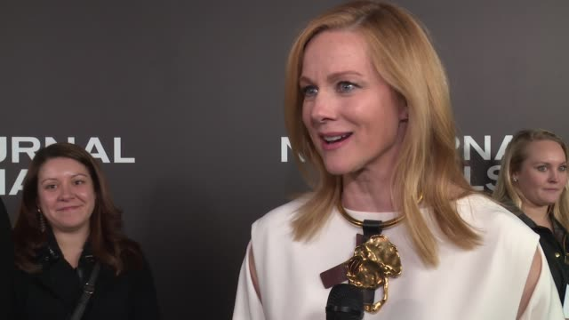 "laura linney on working with tom ford, on understanding the meaning behind imagery at ""nocturnal animals"" new york premiere presented by focus... - working animals stock videos & royalty-free footage"