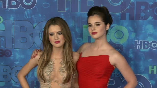 Laura Marano and Vanessa Marano at the HBO's Post Emmy Awards Reception Arrivals at The Plaza at the Pacific Design Center on September 18 2016 in...