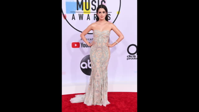 Laura Marano attends the 2018 American Music Awards at Microsoft Theater on October 09 2018 in Los Angeles California