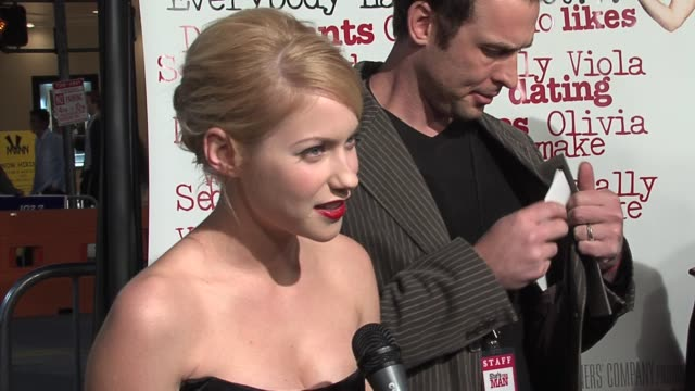 Laura Ramsey on her character Amanda Bynes transformation as a guy and on the scenes they had together at the She's the Man Los Angeles Premiere at...