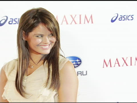 Laura Shields at the Maxim Magazine's ICU Event at Area in Los Angeles California on August 2 2007
