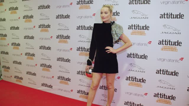 laura whitmore attends the virgin atlantic attitude awards 2021 at the roundhouse on october 06, 2021 in london, england. - attitude stock videos & royalty-free footage