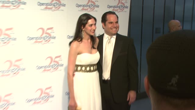 lauren and andrew silverman at the 25th operation smile couture event hosted by billy bush and naomi campbell at 7 world trade center in new york new... - lauren bush lauren stock videos & royalty-free footage