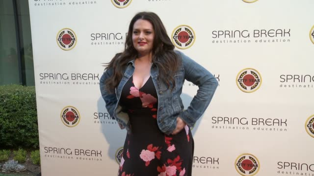 Lauren Ash at the City Year Los Angeles Spring Break Destination Education at Sony Studios on April 28 2018 in Los Angeles California