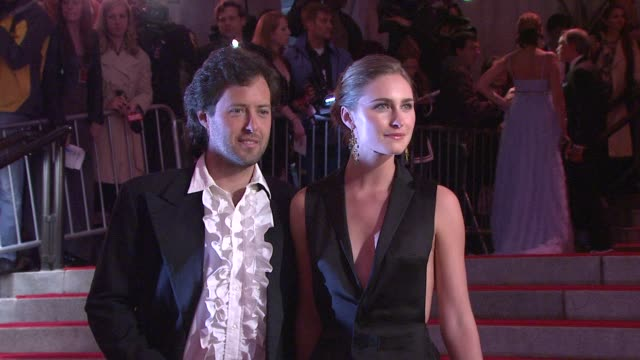 lauren bush and david lauren at the 'the model as muse embodying fashion' costume institute gala at the metropolitan museum of art arrivals at new... - lauren bush lauren stock videos & royalty-free footage