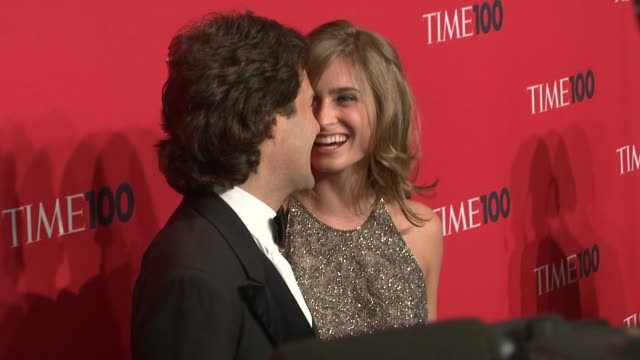 lauren bush and david lauren at the time 100 gala celebrating the 100 most influential people in the world at new york ny - lauren bush lauren stock videos & royalty-free footage