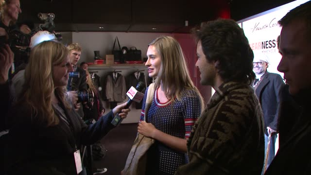 lauren bush at the kenneth cole hosts book launch for 'awearness inspiring stories about how to make a difference' at new york city new york - lauren bush lauren stock videos & royalty-free footage