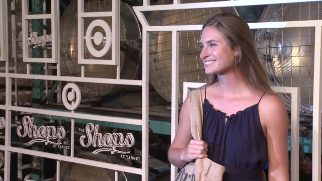 lauren bush at the shops at target fall installment launch event in new york ny on 09/05/12 - lauren bush lauren stock videos & royalty-free footage
