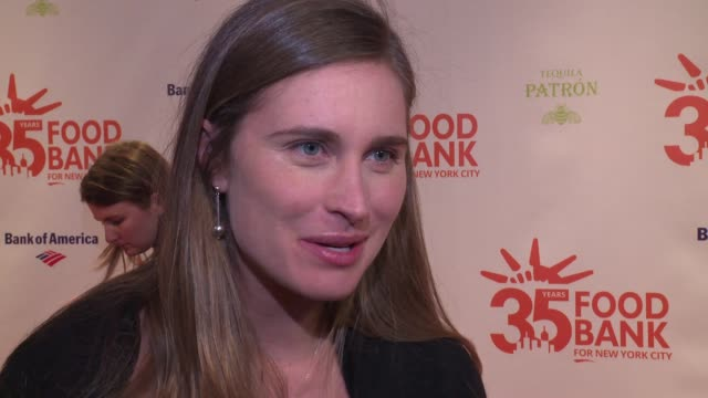 INTERVIEW Lauren Bush Lauren on supporting the organization at 2018 Food Bank For New York City's Can Do Awards Dinner at Cipriani Wall Street on...