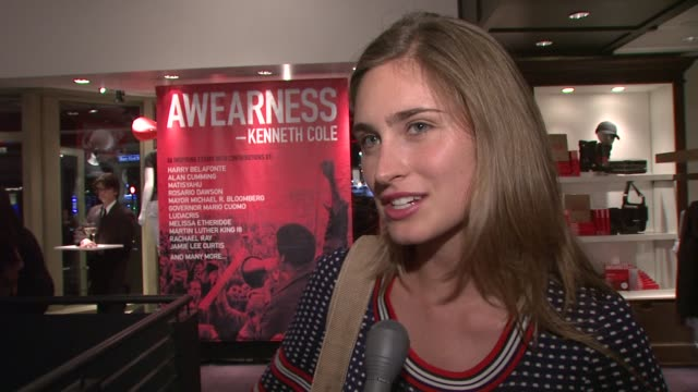 lauren bush talking about getting involved her own 'feed' bags and the book and kenneth at the kenneth cole hosts book launch for 'awearness... - lauren bush lauren stock videos & royalty-free footage