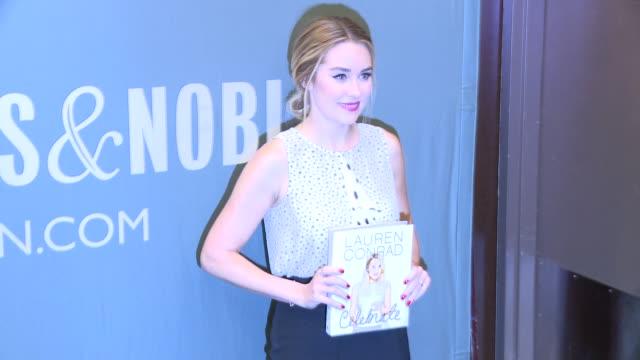 lauren conrad at lauren conrad signs copies of her new book lauren conrad celebrate at barnes noble tribeca on march 28 2016 in new york city - barnes & noble stock videos & royalty-free footage