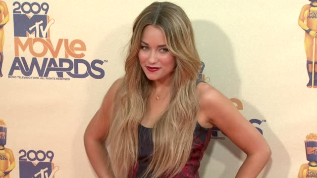 lauren conrad at the 18th annual mtv movie awards at universal city ca - universal city video stock e b–roll