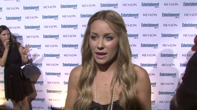 lauren conrad at the entertainment weekly 6th annual preemmy party at los angeles ca - pre emmy party stock videos & royalty-free footage