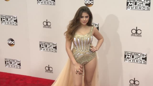 lauren giraldo at 2016 american music awards at microsoft theater on november 20 2016 in los angeles california - american music awards stock videos and b-roll footage