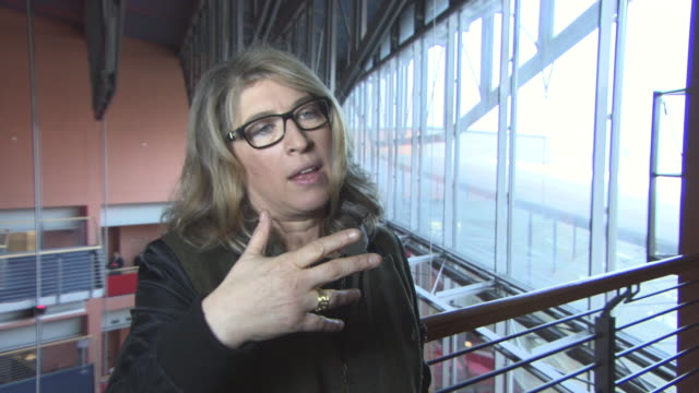 INTERVIEW Lauren Greenfield on Kim Kardashian at 68th Berlin Film Festival Generation Wealth Interviews at Berlinale Palast on February 19 2018 in...