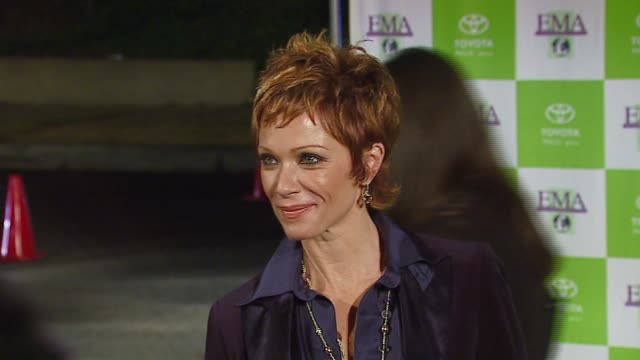 stockvideo's en b-roll-footage met lauren holly at the 16th annual environmental media awards at ebell theater in los angeles california on november 8 2006 - environmental media awards