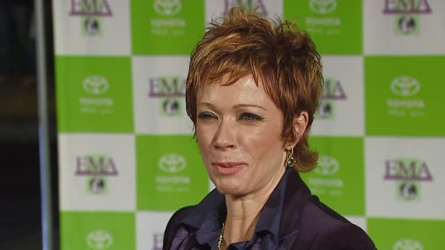 lauren holly at the 16th annual environmental media awards at ebell theater in los angeles california on november 8 2006 - environmental media awards点の映像素材/bロール